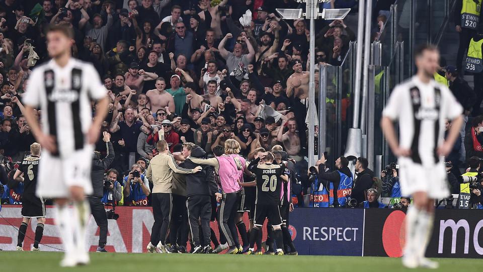 Festa Ajax e tristezza Juventus ©