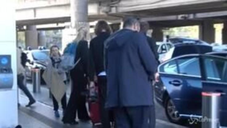 Roma, l'arrivo di Greta Thunberg: l'ambientalista a stazione Tiburtina