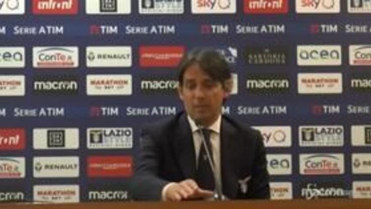 """Lazio, S.Inzaghi: """"Grandissimo primo tempo"""""""