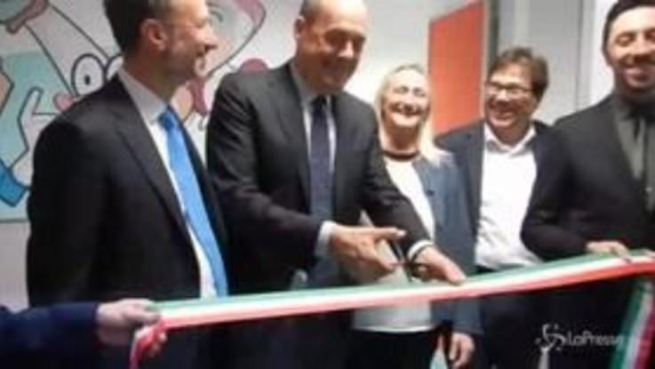 Roma, Zingaretti inaugura il nuovo centro di Oftalmologia Pediatrica