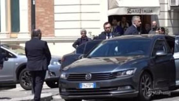 Reggio Calabria, l'arrivo di Conte e Salvini per il Cdm