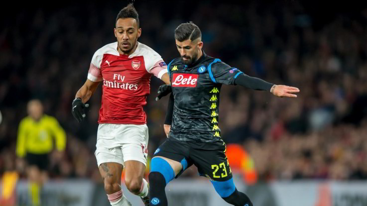 Europa League: Napoli-Arsenal