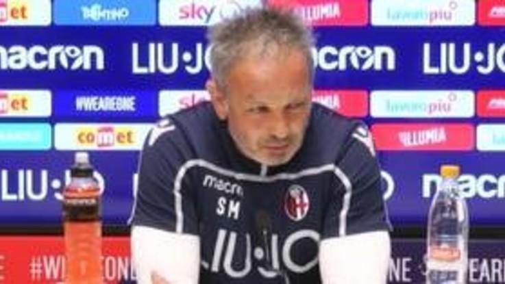 """Bologna, Mihajlovic: """"Gara difficile, mi aspetto lo stadio pieno. Destro convocato"""""""