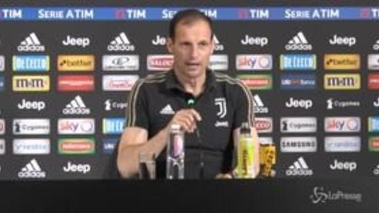 """Juventus, Allegri: """"Resta una grande annata, Ronaldo sereno ma deluso"""""""