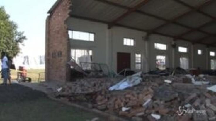 Sudafrica, crolla una chiesa: almeno 13 morti
