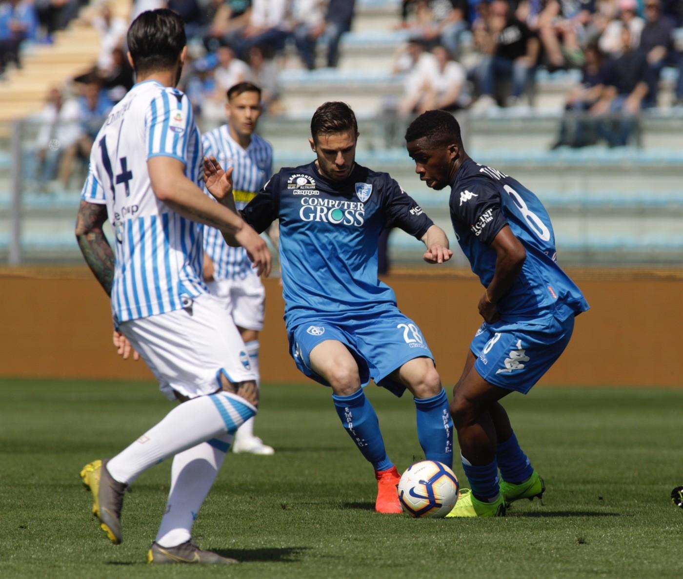 Serie A, Empoli-Spal 2-4   Il fotoracconto
