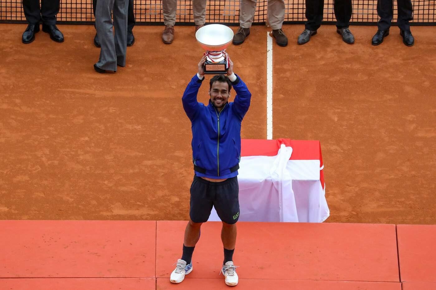 Montecarlo, Fognini trionfa nel Masters 1000. E' la prima volta di un italiano