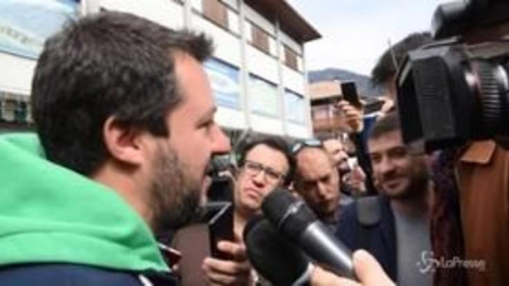 """Salva Roma, Salvini: """"O si aiutano tutti i comuni o nessuno, democrazia funziona così"""""""