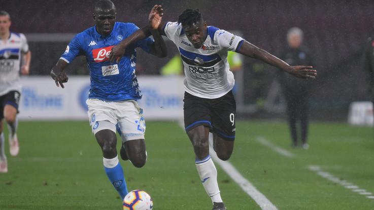 Grande Atalanta con vista Champions. Zapata e Pasalic ribaltano il Napoli: 1-2