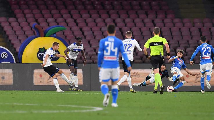 Serie A, Napoli-Atalanta 1-2 - Il fotoracconto