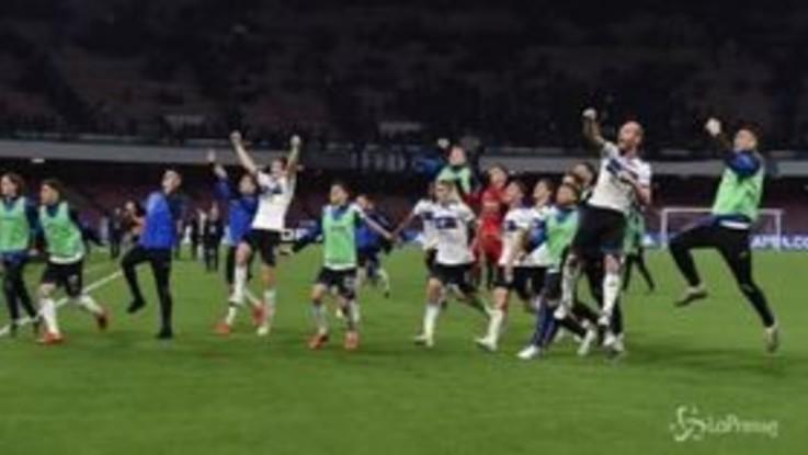 Serie A, l'Atalanta sbanca Napoli e aggancia il Milan al quarto posto