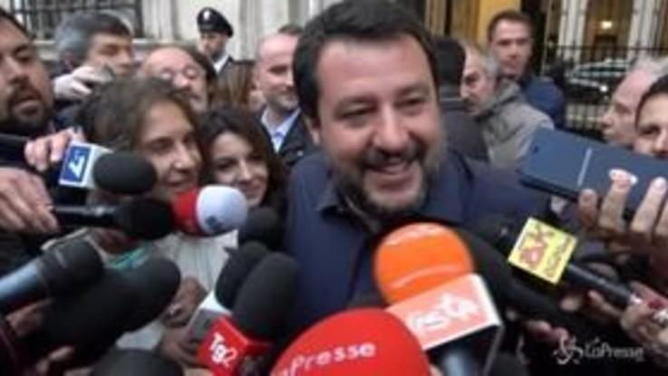 """Salva Roma fuori dal Dl Crescita, Salvini: """"Stralcio concordato con chi c'è, Di Maio assente"""""""