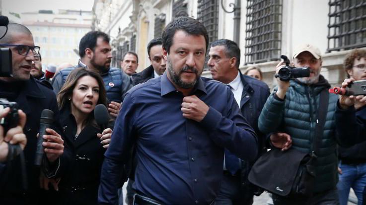 """Salva Roma e caso Siri, Lega e M5s ai ferri corti. Salvini: """"Si sciacqui bocca chi parla di noi e di mafia"""""""