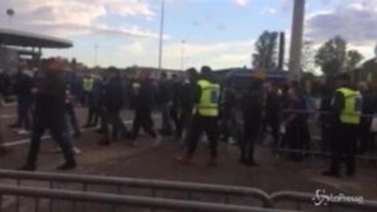Milan-Lazio, cori razzisti dei tifosi biancocelesti contro Bakayoko