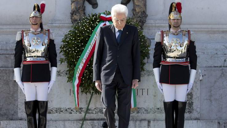 """25 aprile, Mattarella a Vittorio Veneto: """"Fu ritorno a libertà e democrazia dopo la dittatura"""""""