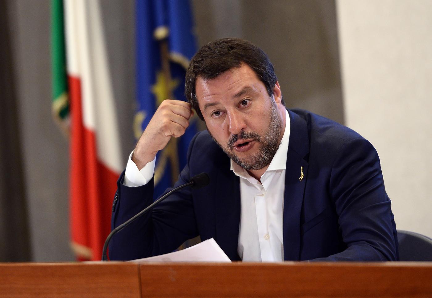 """25 aprile, Salvini a Corleone: """"Colleghi rispettino la mia scelta, vorrei fosse giornata di unione"""""""
