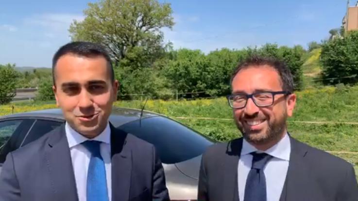 Auto di Bonafede tamponata in autogrill: Di Maio gli dà un 'passaggio'