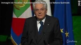 """Mattarella: """"Ricordare il 25 aprile un dovere morale e civile"""""""