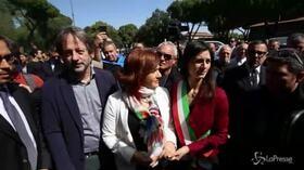 25 aprile, a Roma la manifestazione della comunità ebraica