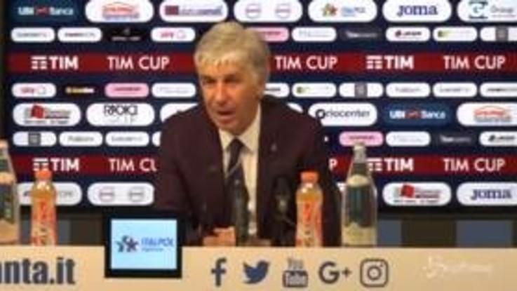 """Atalanta, Gasperini: """"Siamo stati molto bravi. La Fiorentina? Avversario valoroso"""""""