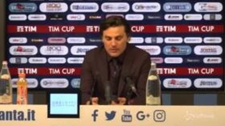"""Fiorentina, Montella: """"Rigore ha minato qualche sicurezza, ora concentrasi sul campionato"""""""