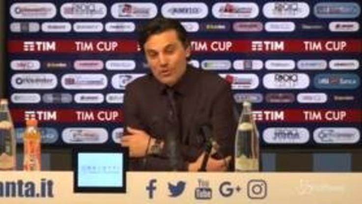 """Fiorentina, Montella: """"Rammaricato, con un po' di cinismo si poteva vincere"""""""