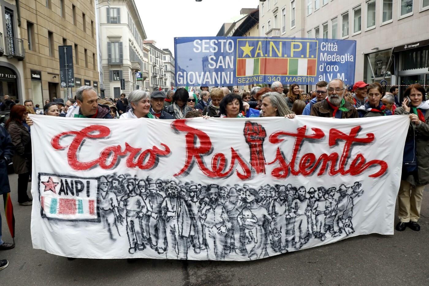 """L'Anpi: """"L'Italia chiede lo scioglimento delle organizzazioni ispirate al fascismo"""""""