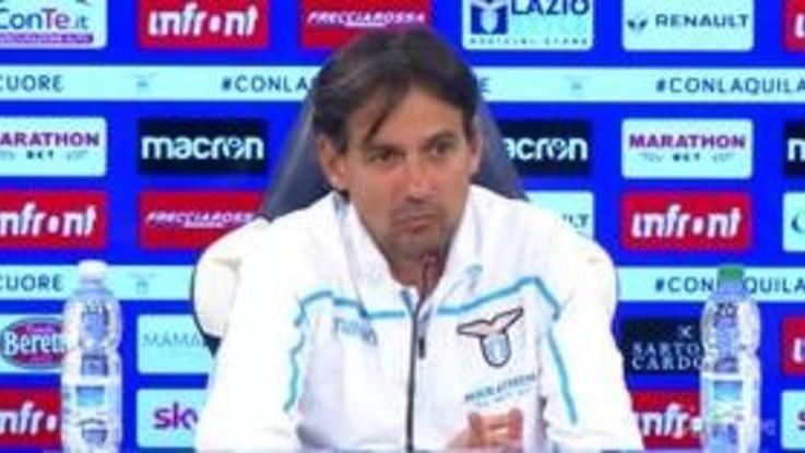 """Lazio, Inzaghi: """"Mancano sei partite, devono essere tutte finali"""""""