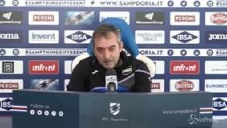 """Sampdoria, Giampaolo: """"Se il fatturato vale più delle ambizioni allora vaffa..."""""""