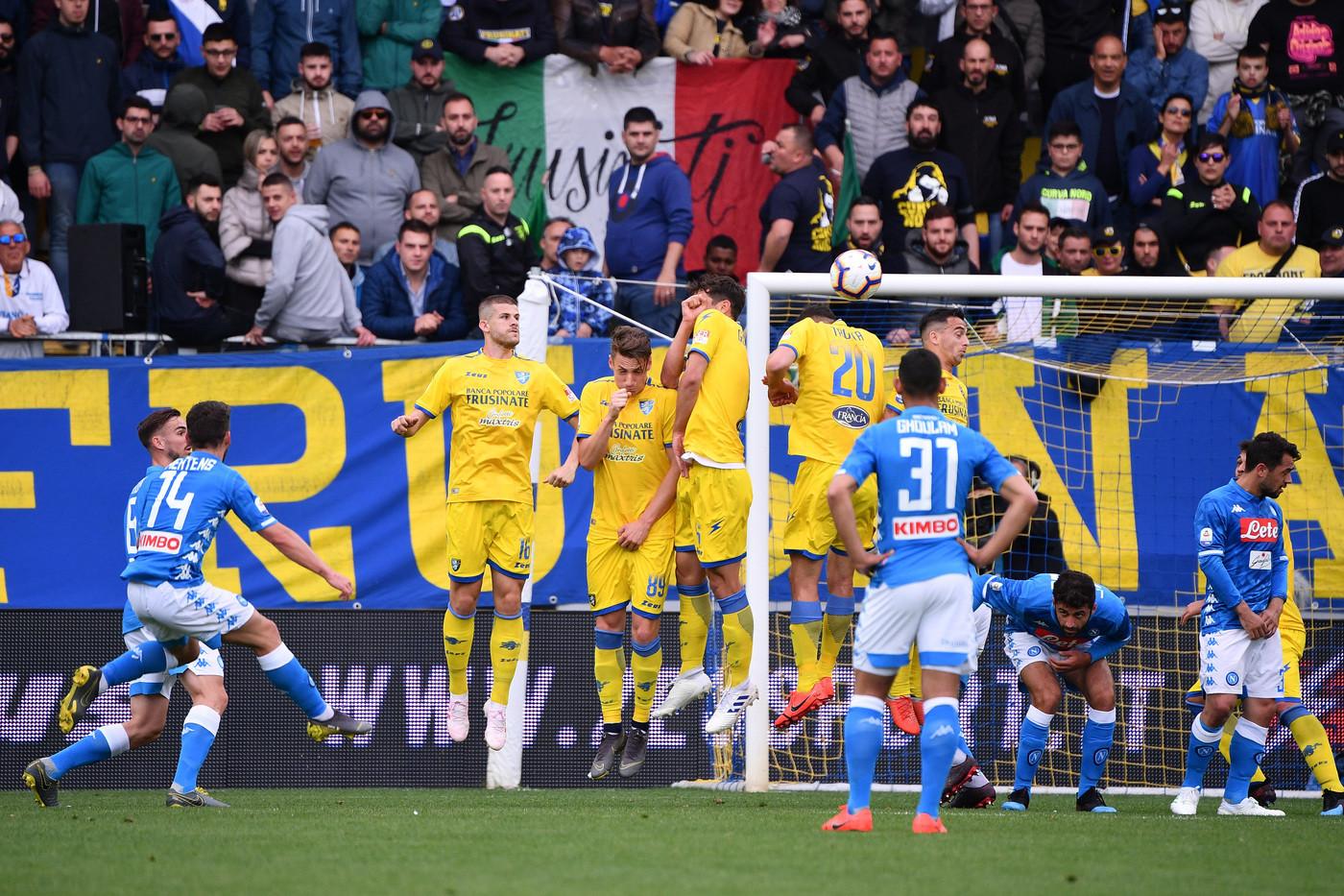 Serie A, Frosinone-Napoli 0-2   Il fotoracconto