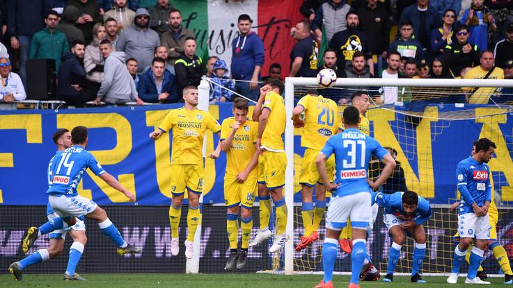 Serie A, Frosinone-Napoli 0-2 | Il fotoracconto