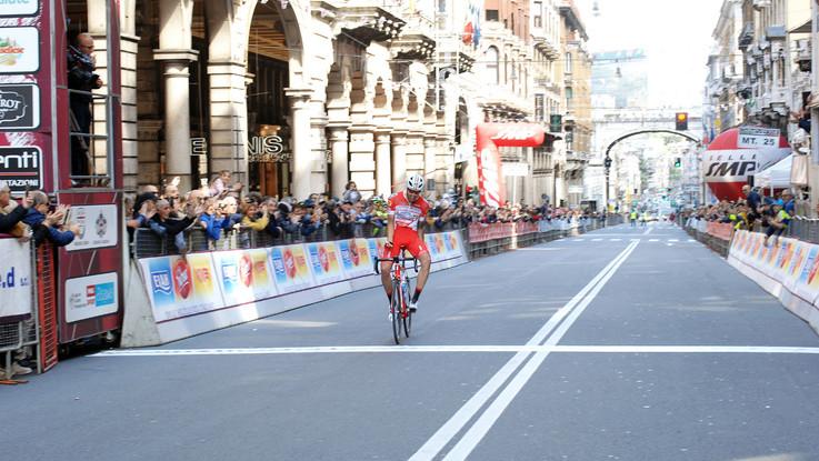 Ciclismo, Giro dell'Appennino: a Genova trionfa Mattia Cattaneo