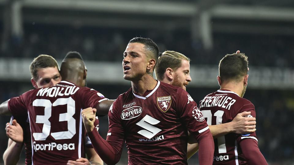 Il Torino festeggia il 2-0 ©