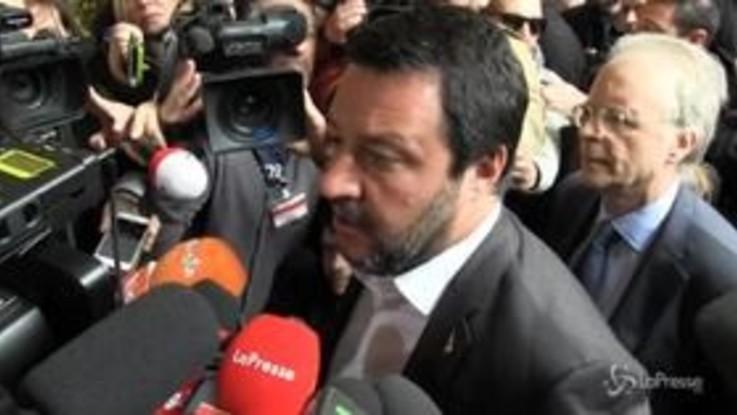 """Violenza CasaPound, Salvini ribadisce: """"Castrazione chimica per gli stupratori"""""""