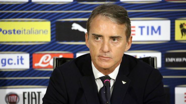 """Nazionale, Mancini: """"Diamo fiducia ai giovani di talento. Balotelli? Oltre ai gol, deve comportarsi bene"""""""