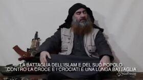 """Isis, Al-Baghdadi torna in un video dopo 5 anni: """"Attacchi in Sri Lanka vendetta contro i crociati"""""""
