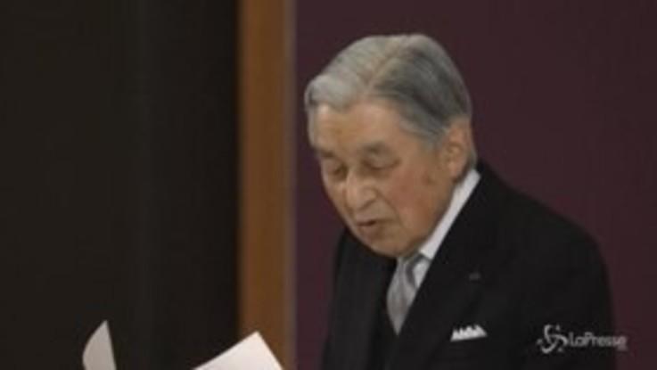 L'imperatore giapponese Akihito ha abdicato