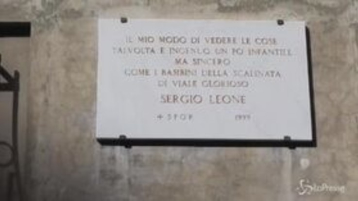 Roma rende omaggio a Sergio Leone