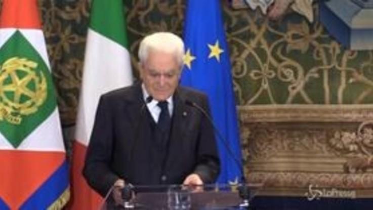 """1 maggio, Mattarella: """"Il lavoro è un bene sociale riconosciuto dalla Costituzione"""""""