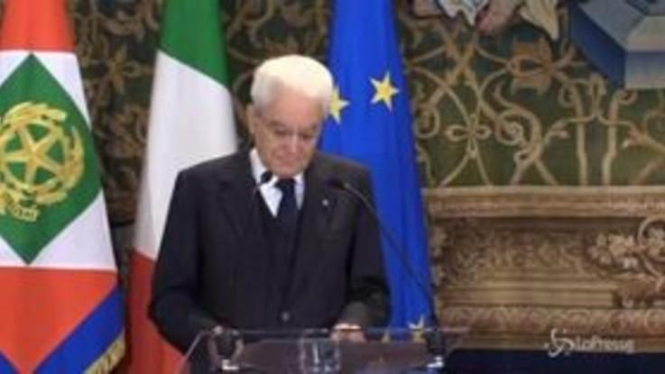 """1 maggio, Mattarella: """"L'occupazione cresce, ma non ci può soddisfare"""""""