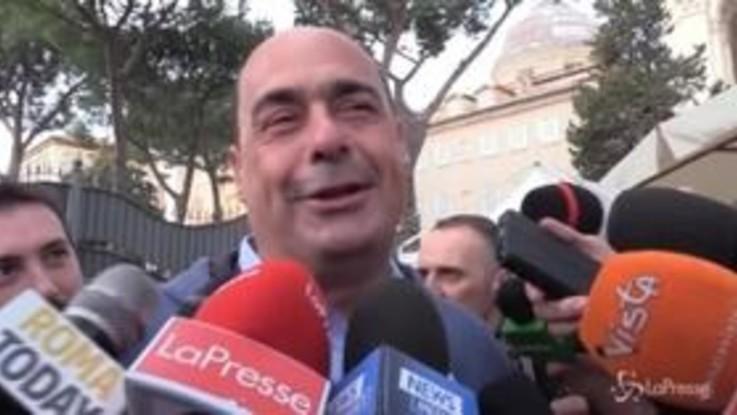 """Zingaretti al Concertone del Primo maggio: """"Sono un fan di 'Ultimo'"""""""