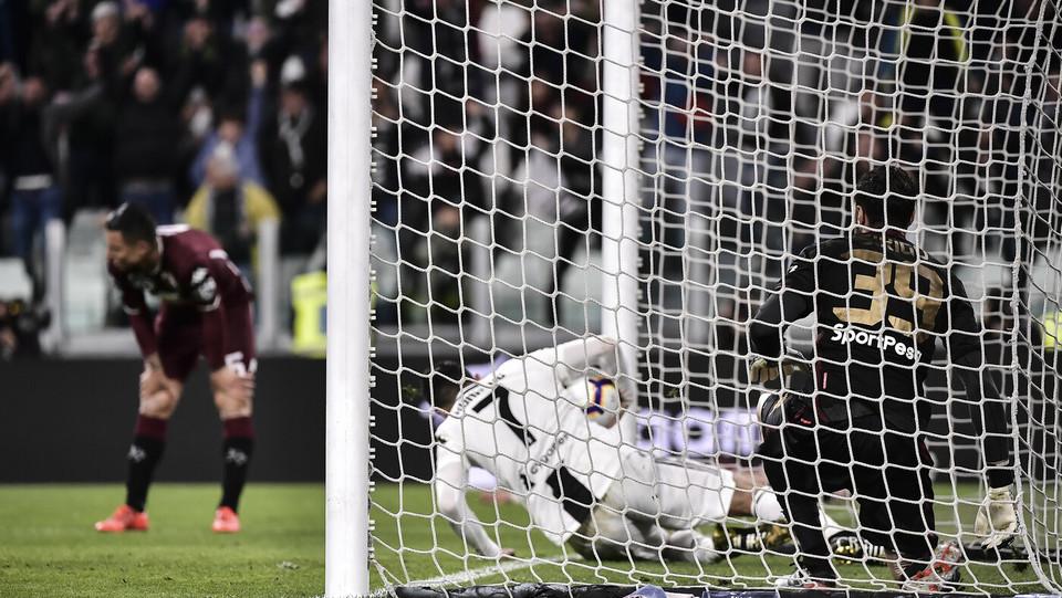 Ronaldo ha appena segnato il gol del pari ©