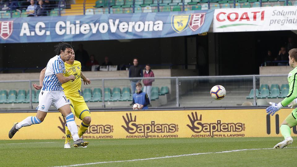 Floccari segna il gol del 0-2 ©