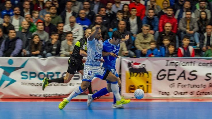 Calcio a 5, quarti playoff: l'Acqua e Sapone si prende la gara 2 con il Maritime
