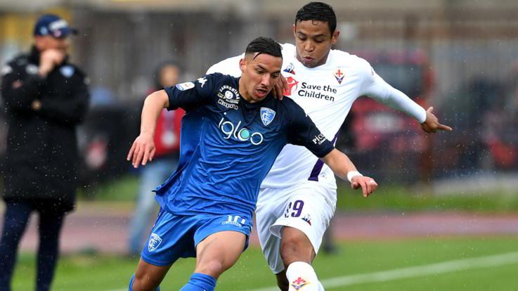 Serie A, Empoli-Fiorentina 1-0 | Il fotoracconto