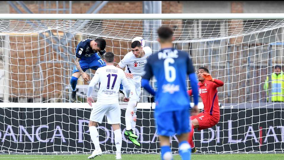 Il gol di Farias (Empoli) ©