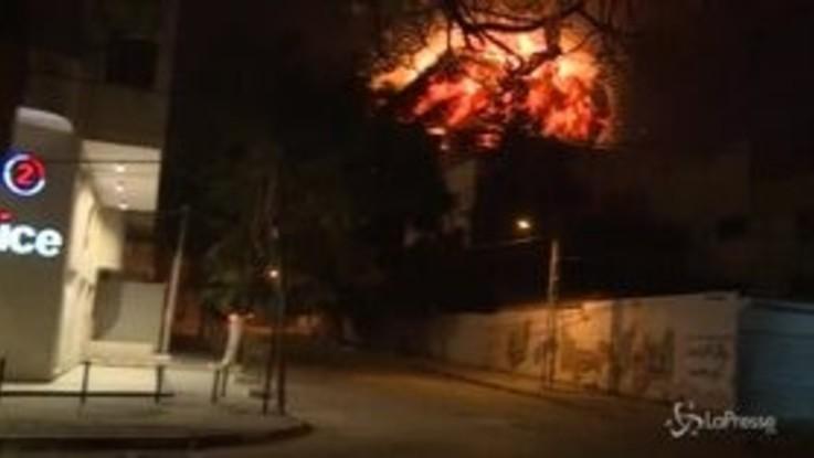 Israele, pioggia di razzi da Gaza