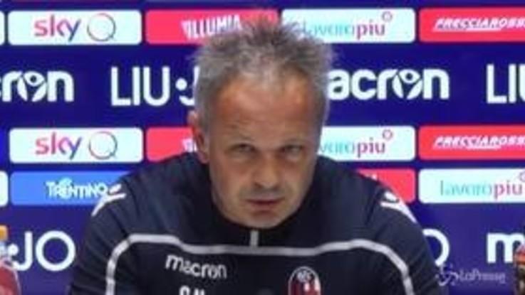 """Bologna, Mihajlovic: """"Fatto tanto ma manca l'ultimo scatto per la salvezza"""""""