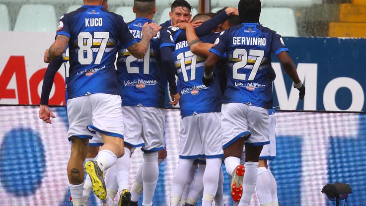 Serie A, Parma-Sampdoria 3-3 | Il fotoracconto