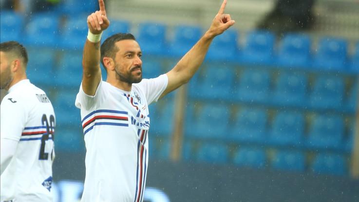 Serie A, 3-3 con la Samp: Parma quasi salvo, Quagliarella re dei bomber